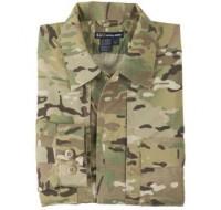5.11 MultiCam TDU Shirt - Long Sleeve, Ripstop (72013)