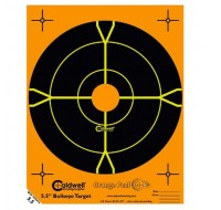 "Caldwell Orange Peel Target 5-1/2"" Self-Adhesive Bullseye (10)"