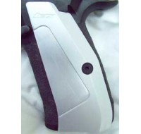 CZ Long Aluminium Skateboard Grips 75 / 85 / SP-01 - Silver