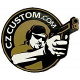 "CZ Custom Rubber Patch 3"""