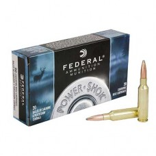Federal Ammunition 6.5 Creedmoor 140GN SP Power-Shok (20)