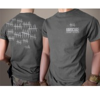 Hardcore Hardware Australia Grey Hatch T-Shirt