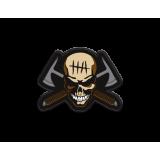 Hardcore Hardware Australia Morale Patch 2012 Skull