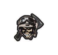 Hardcore Hardware Australia Morale Patch 2014 Skull