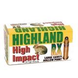 Highland 22LR 36GN RX High Velocity Deep Hollow Point (50)