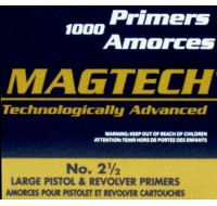 Magtech Large Pistol Primers (1000)