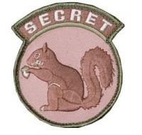Secret Squirrel Patch