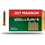 Sellier and Bellot 158GN 357 Magnum FMJ (50)