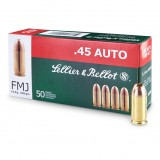 Sellier and Bellot 230GN 45ACP FMJ (50)