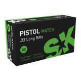 SK Pistol Match  22LR 40GN 1050FPS (500)