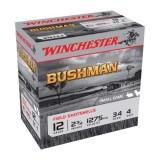 Winchester Bushman 12 Gauge 4 Shot 34gm (25)