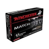 Winchester Match 6.5 Creedmoor 140GN Sierra MatchKing Hollow Point Boat Tail (20)