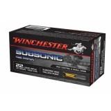 Winchester Subsonic Ammunition 22LR 42GN HP (50)